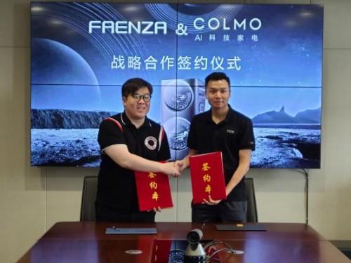 顶峰相遇 FAENZA X COLMO正式达成深度战略合作