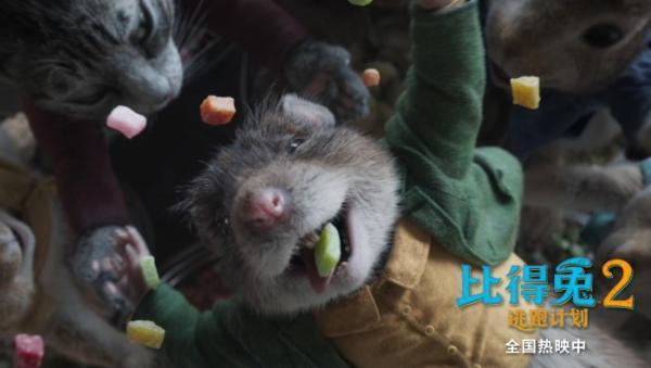 《比得兔2:逃跑计划》高分领跑 端午档唯一票房持续上扬影片