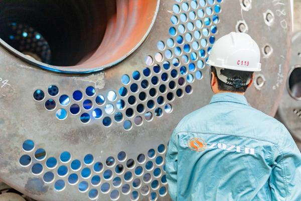 中正锅炉定制节能节水蒸汽锅炉系统 赢得大型国有企业磷化集团的青睐