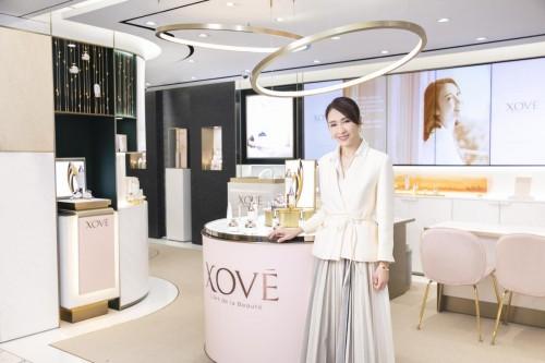 XOVE首家品牌体验店隆重开业,黎姿亲临现场把控细节