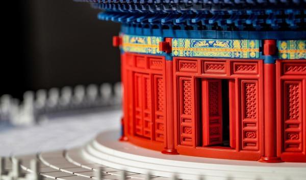 惊艳世界的中国积木:千年榫营造积木 天坛纪念版,看一眼就想要!