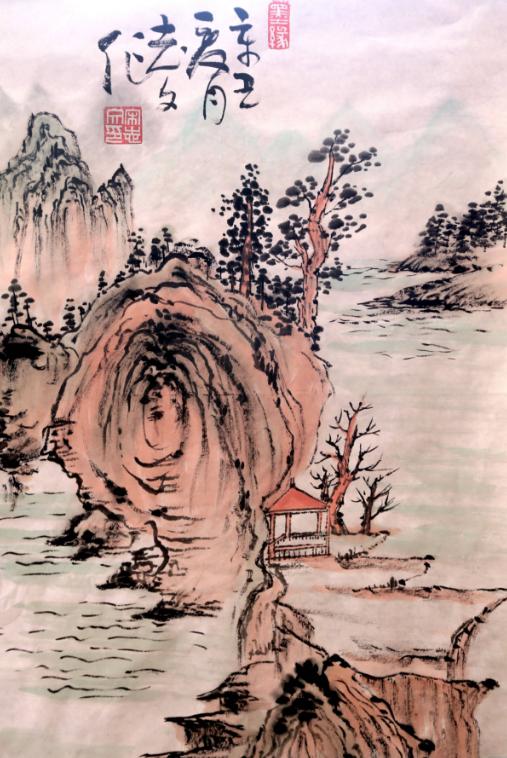 重温红色经典,在国画中回顾新中国伟大的发展历程!