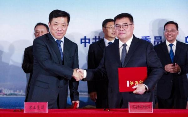 君正集团207亿发力低碳环保循环经济,创始人杜江涛再助家乡产业升级