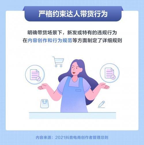 抖音电商发布创作者管理总则,多方面严格约束达人带货行为