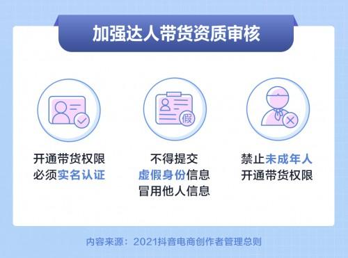 抖音电商发布创作者管理总则,持续完善平台治理