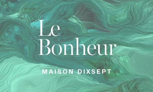 MAISON DIXSEPT艺术香氛Le Bonheur放纵全新发售