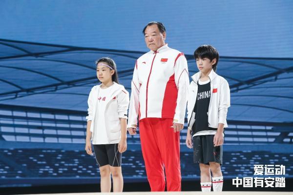 安踏儿童推王一博同款加油T 为中国奥运健儿助威