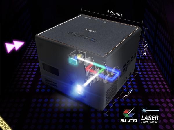 光影时代,玩转摩登新生活 爱普生与腾讯视频•极光TV联合推出激光3LCD智能投影机