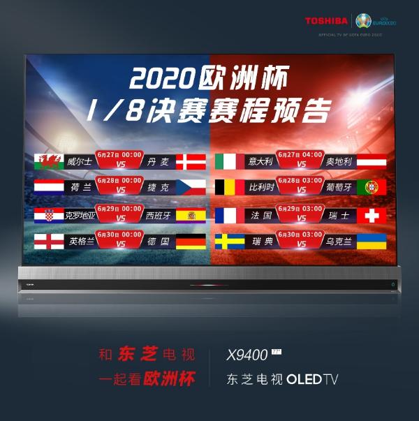 东芝电视欧洲杯预报:1/8决赛死亡上半区、快乐下半区