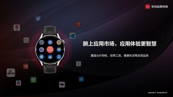 HUAWEI WATCH 3系列惊喜发布 !腕上应用,精彩尽在华为应用市场