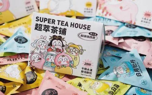 """看旺店通如何为月销千万的""""花果茶之王""""茶小空品牌发展助力"""