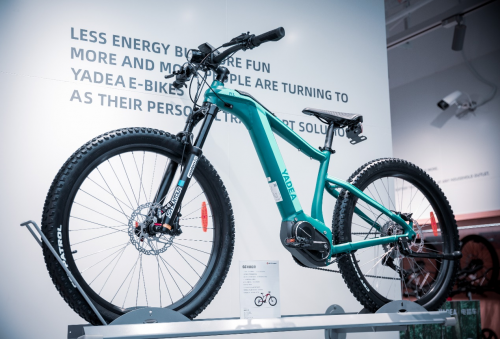 新征程,再攀新巅峰!雅迪电踏车首家体验中心正式揭幕