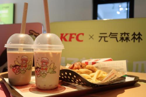 """展现品牌新活力!元气森林x KFC 打造契合年轻人口味的""""夏日新品"""""""