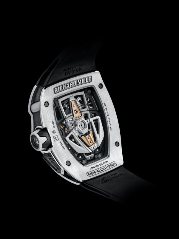 从顶级超跑到超级腕表 RICHARD MILLE里查德米尔RM 40-01腕表面世