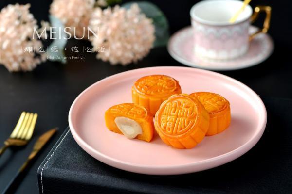「流心」月饼专家,香港·美诚星厨首创白松露流心奶黄月饼