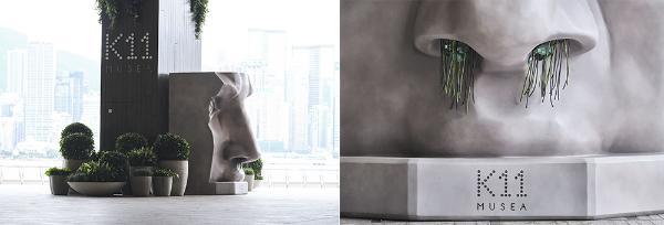 「品位大师」郑志刚香港艺术月巨献,巨型玫瑰绽放K11 MUSEA海滨长廊