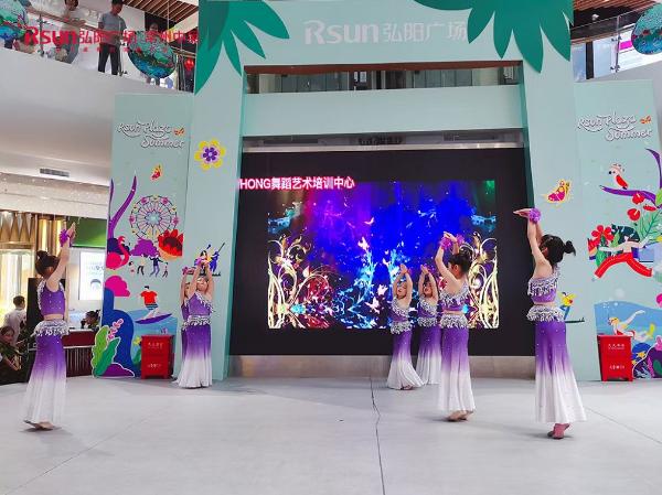 中吴弘阳广场顺利举办为党庆生活动,客流销量同比上涨