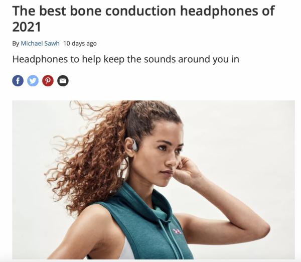 外媒也推荐的韶音专业运动耳机,618大促重磅袭来