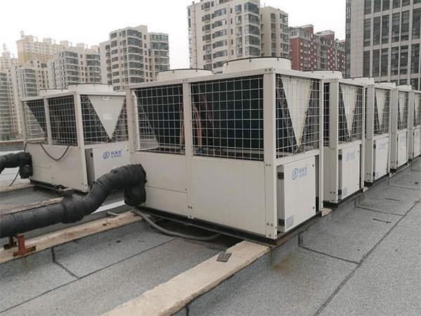 格瑞德中央空调系统保证滨河时尚广场购物体验