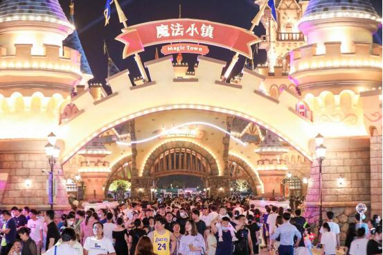 济南融创文旅城新业态抢眼,端午三天累计接待游客32.8万人次