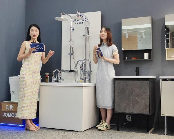 九牧发布睿鸥系列新品,打造年轻卫浴新主场!