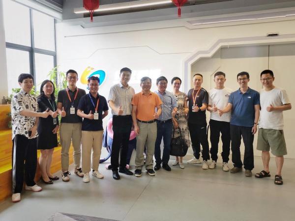 做最好的AI+RPA厂商丨中国工程院院士陈纯、浙大冯雁博士调研实在智能