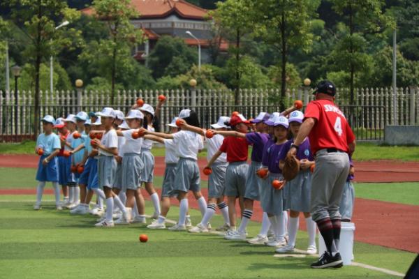 岳麓山下,今天以棒球公益课为盛——MLB First Pitch棒球公益课长沙站启动