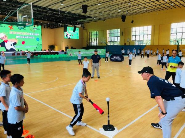 棒球公益课火热重庆——MLB First Pitch棒球公益课重庆北碚站启动