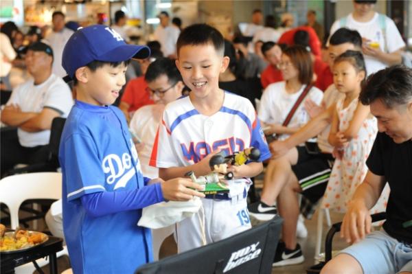 """最棒的父亲节,就在MLB观赛趴 ——""""MLB父亲节线下观赛趴""""杭城举行"""