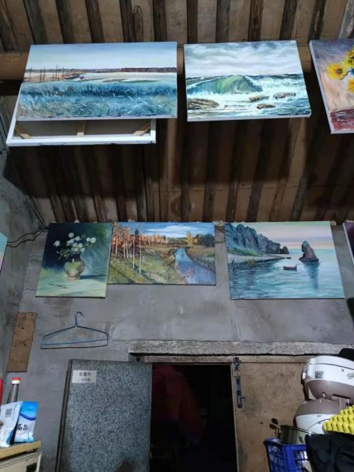 一个被群嘲的画家:就因为我是收废品的,他们说我画画是浪费颜料