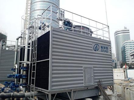 格瑞德集团冷却塔服务石家庄地铁项目