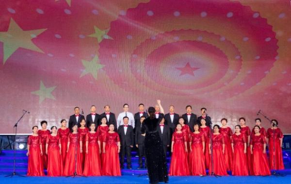 百年华诞喜同庆 唱响红歌颂党恩 那香海第六届社区文化艺术节开幕式