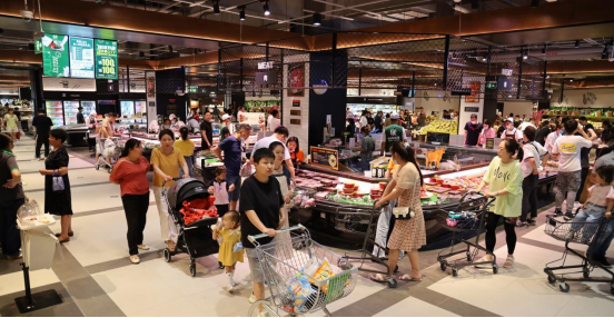 苏果CITY南京万象汇店璀璨开业,点亮轻享生活新地标