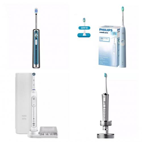 市面最全的电动牙刷品类科普分析,电动牙刷哪个牌子好?