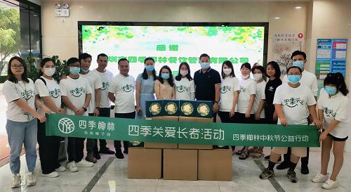 献礼抗疫英雄,四季椰林38家直营店为医护人员免费提泰国椰皇