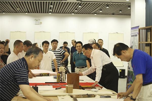 庆祝建党100周年书法交流活动在京举行