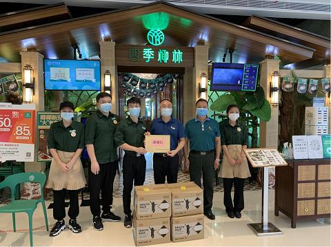 四季椰林携38家直营店用行动诠释抗疫责任,用爱心致敬医护人员!