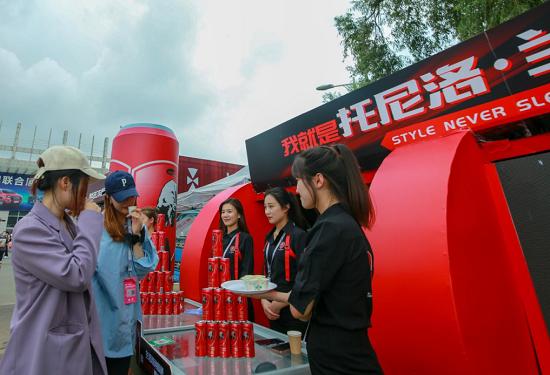 托尼洛·兰博基尼能量饮料高调亮相长春汽博会