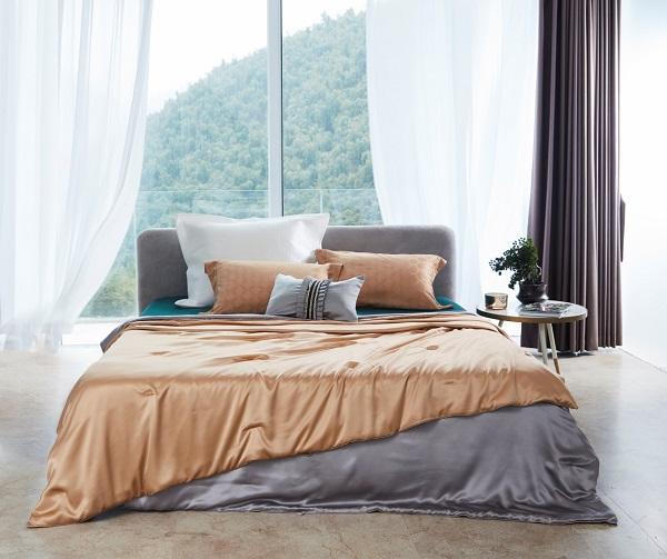 三伏天辗转反侧?梦洁高端丝类床品清爽舒适守护夏日睡眠