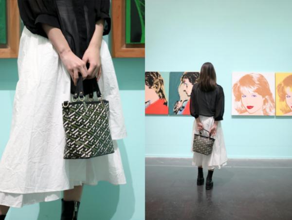 完美融合时尚与艺术,看展凹造型必备COMICO21女包