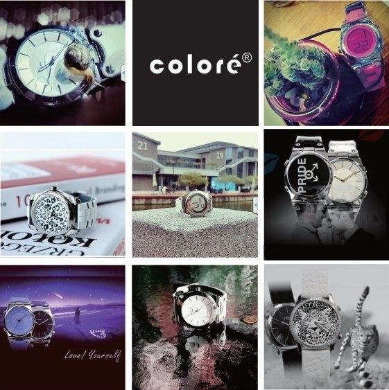 时尚潮流品牌卡云尼 Coloré Twins:双面显示原创设计令人眼前一亮