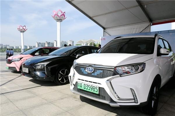 2021年江西省首届新能源汽车下乡活动南昌站开幕