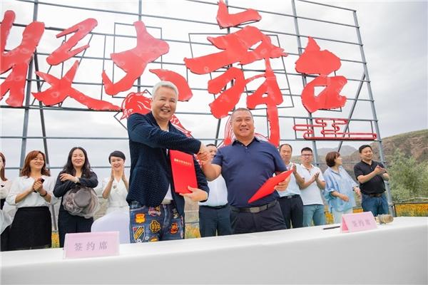 战略合作签订,TST助力新疆三文鱼跃出天山!