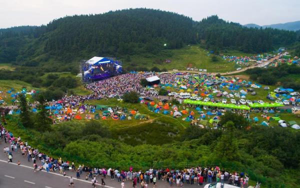 重磅消息!本周六,2021年仙女山露营音乐季超燃来袭
