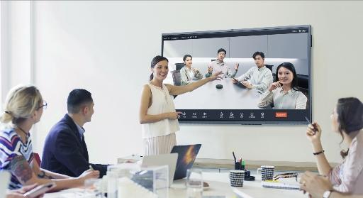 钉钉会议专款在北京InfoComm首发,MAXHUB联合钉钉赋能企业