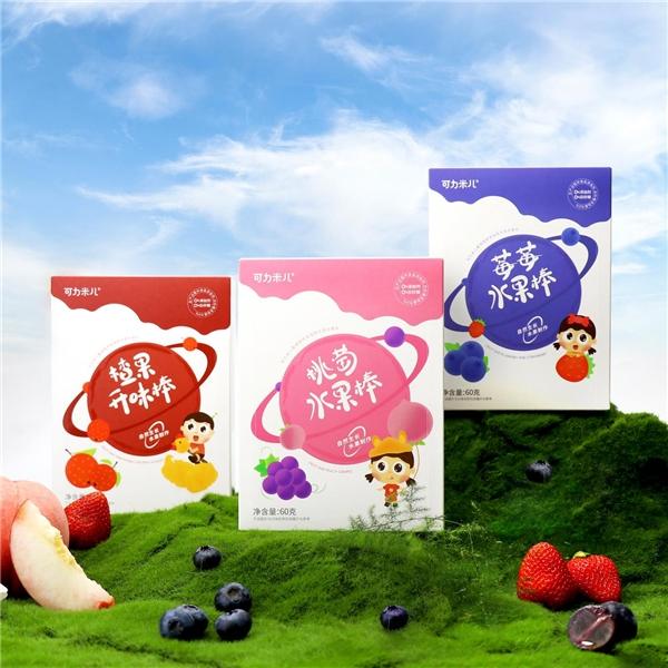 专属宝宝,可力米儿99%以上纯水果无添加的水果棒正式发布
