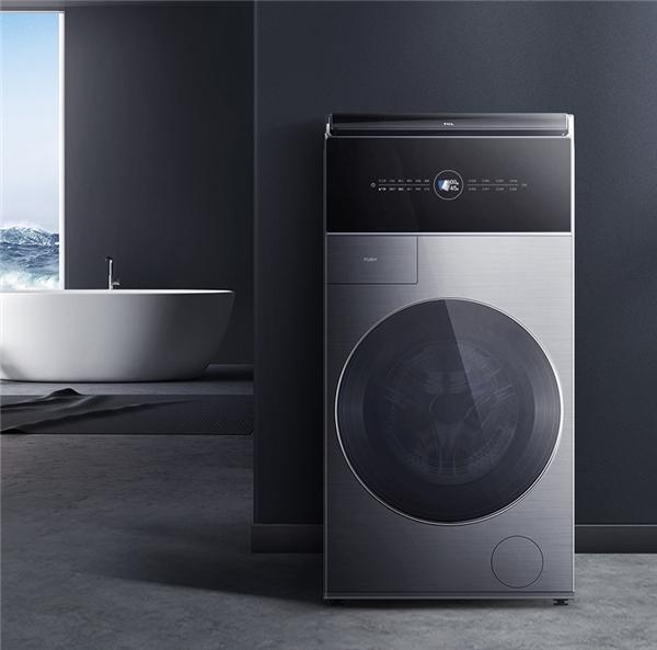TCL C12复式分类洗衣机,上下双筒解决夏季洗衣痛点