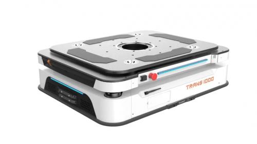 优艾智合Trans1000移动机器人斩获德国红点产品设计奖