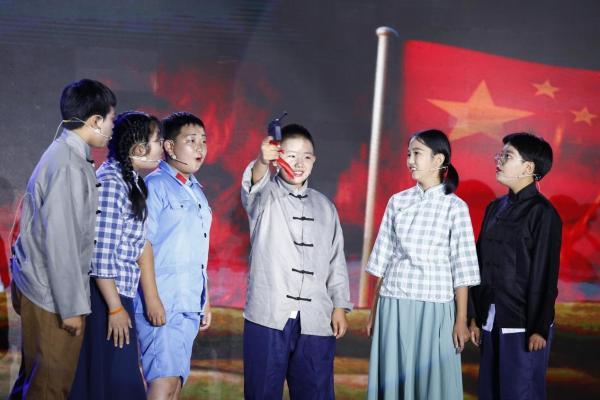 沐百年风雨,诵盛世祖国—北部新区实验学校红色教育主题展演