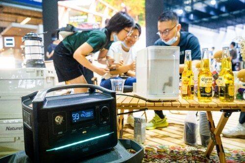 EcoFlow正浩亮相上海ISPO | 野奢夏日插电露营,嗨翻全场
